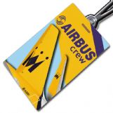 Monarch Airbus Crew Tag